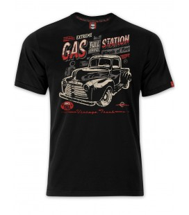 T-shirt Extreme Gas Station Black, TSM-015
