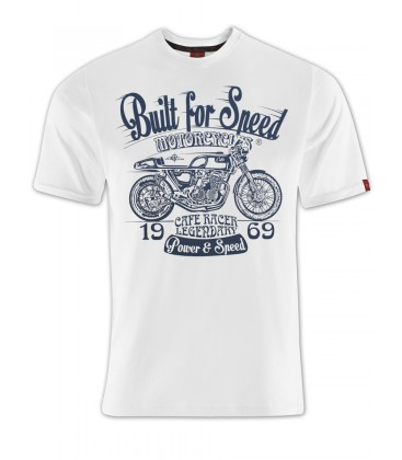 T-shirt Rusty Power White, TSM-007
