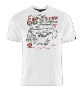 T-shirt Extreme Gas Station White, TSM-014
