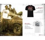 T-shirt Full Throttle Black, TSM-004