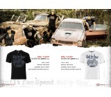 T-shirt Built for Speed Black, TSM-010