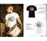 T-shirt Loud and Low Black, TSM-022