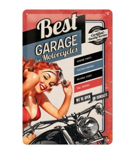 Szyld, tablica, Best Garage Pin Up 3