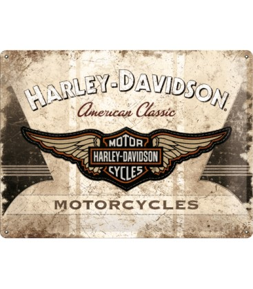 Szyld, tablica, Harley American