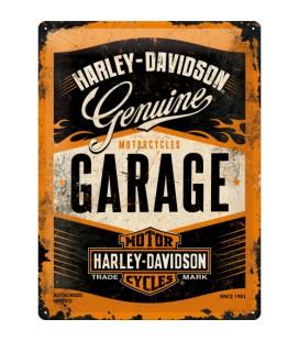 Szyld, tablica, Harley Garage