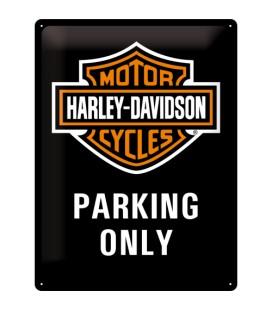 Szyld, tablica, Harley Parking