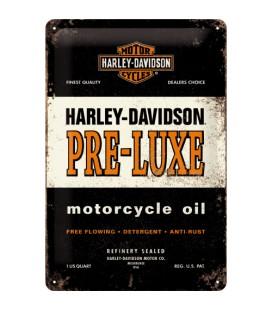 Szyld, tablica, Harley, Pre-Luxe