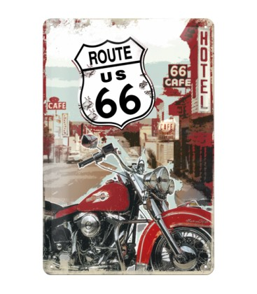 Szyld, tablica, HD Route 66
