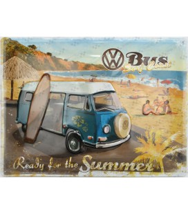 Szyld 30x40 VW Beetle Surf