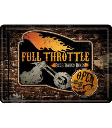 Tabliczka, pocztówka, Full Throttle
