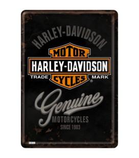 Tabliczka 14x10 szyld Harley Genuine