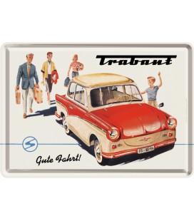 Tabliczka 14x10 szyld Trabant 2