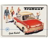 Tabliczka, pocztówka, Trabant 2