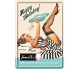 Tabliczka, pocztówka, Urodziny