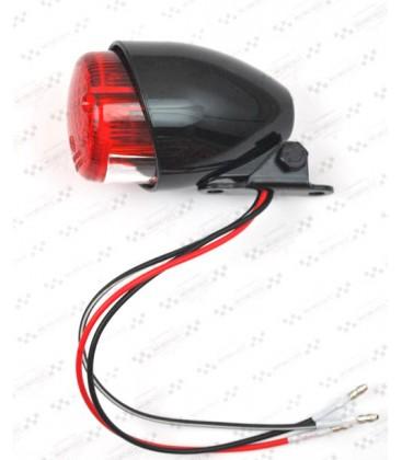 Tylna lampka, czarna, OS-017