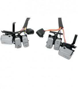 Przełączniki, przyciski chrom, EU-240