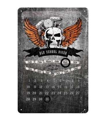 Szyld 30x20 kalendarz Harley Motor Oil