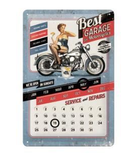 Szyld 30x20 kalendarz Old School Biker