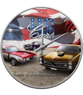 Zegar US Cars
