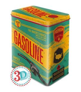 Pojemnik 3D, puszka, Gasoline
