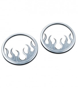 Pierścienie, nakładki na głośniki, Kuryakyn, EU-369