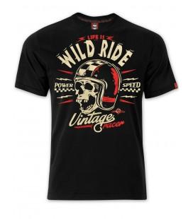 T-shirt Hell Ride Black, TSM-025