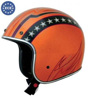 Kask AFX Orange Flake