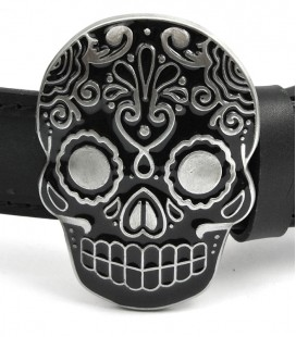 Klamra do pasków, Mexican Skull, AK-309