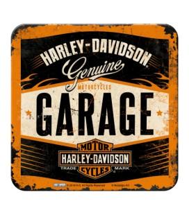 Metalowa podkładka, HD Garage