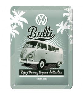Szyld 15x20 tablica VW Bulli Retro