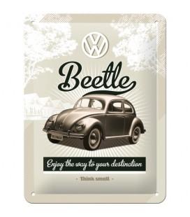 Szyld 15x20 tablica VW Beetle