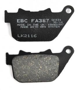 Klocki hamulcowe Sportster tył, EBC, UH-235