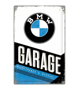 Szyld 25x50 BMW GARAGE