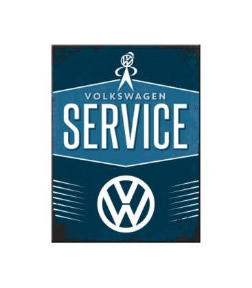 Tabliczka, magnes, VW Service