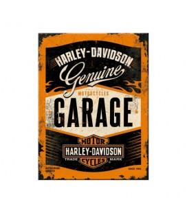 Tabliczka, magnes, Harley Garage