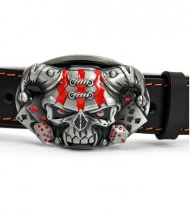 Klamra do pasków, Skull, AK-378