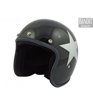 Kask Bandit Star Jet black