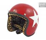 Kask Bandit Star Jet red