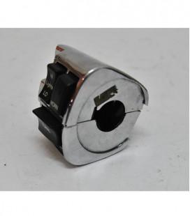 Przełączniki, przyciski Harley, Chrom Lewa, UZE-030