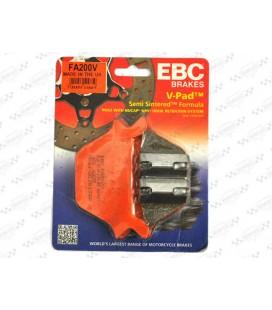 Klocki hamulcowe Evo tył, EBC, UH-075