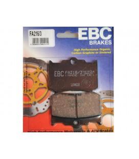 Klocki hamulcowe, do zacisków PM, EBC, UH-078
