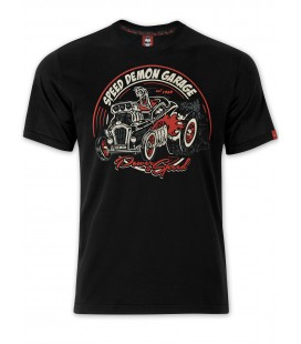 T-shirt Power & Speed Black, TSM-032