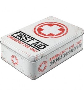 Pojemnik 3D, puszka, First Aid
