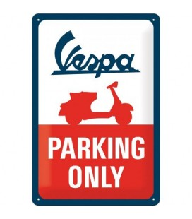 Szyld 30x20 tablica Vespa Parking Only