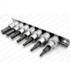 Klucze imbusowe calowe nasadowe, NK-018