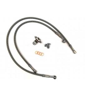 Przewód hamulcowy, oplot, tył, UZH-016