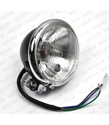 Lampa 4 1/2 czarna OS-002