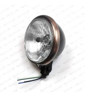 Lampa 5 3/4 Bates, czarna, OS-032
