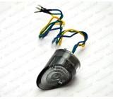 Lampa czarna, tylna LED, OS-056