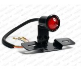 Lampa czarna, tylna LED, OS-181